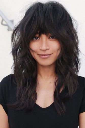 15 Times The Bangs For Round Face Will Rock In 2020 Bangs For Round Face Face Shape Hairstyles Round Face Haircuts Medium