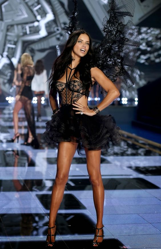 Adriana Lima - 2014 Victoria's Secret Fashion Show