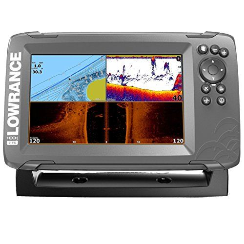 Discounted Lowrance 000 14022 00 7x Hook 2 Gps Tripleshot Gray 000 14022 001 000 14022 001 7 Gray Gray Fish Finder Transducer Gps