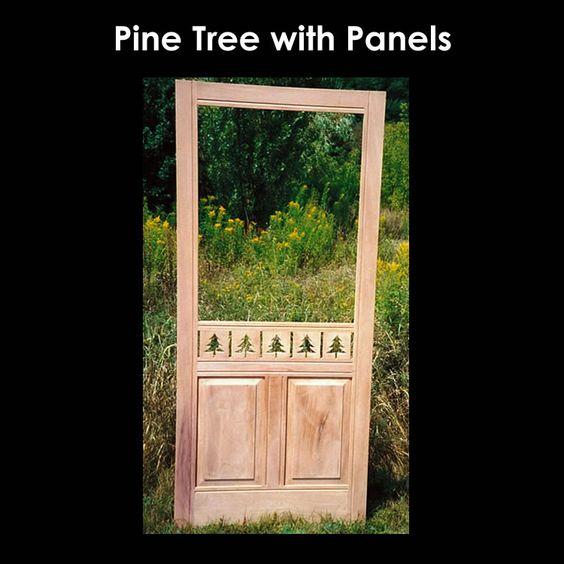 wooden screen door co 1