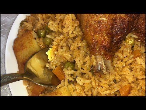 مطبخ أم أسيل أسهل و أطيب طريقة لتحضير الأرز في الفرن لا تفوتكم Youtube Food Chicken Pizza