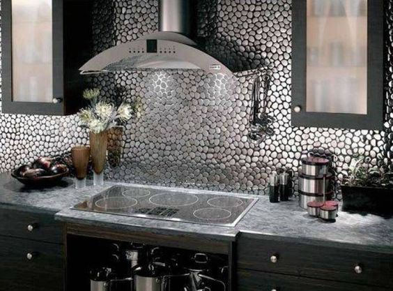 Metal Wall Tiles For Kitchen Modern Design Studio Pinterest And