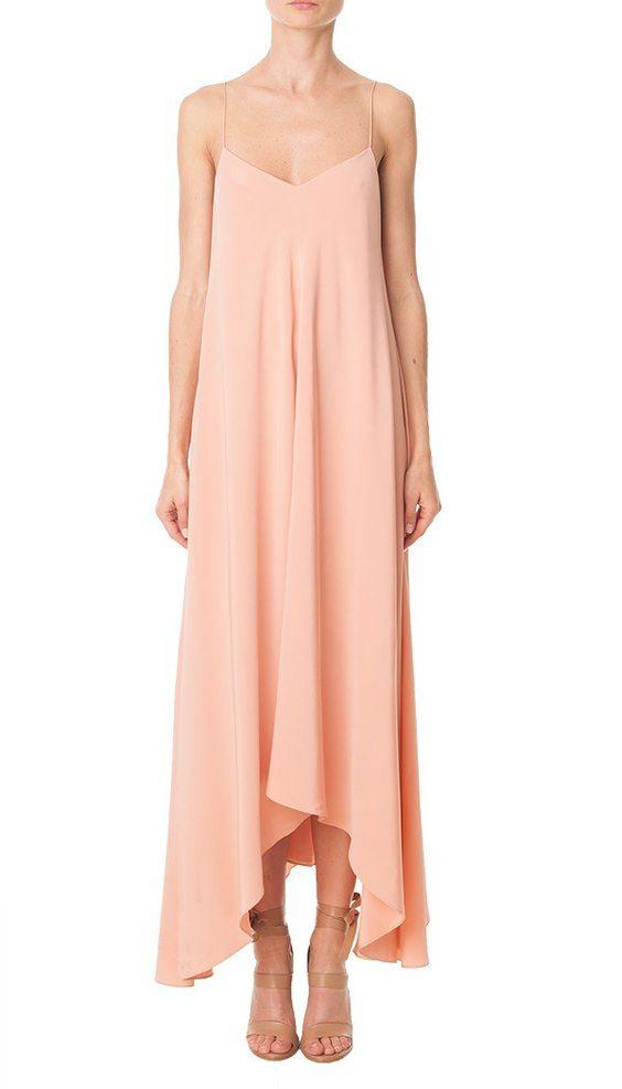 Pin for Later: 27 Reasons Slip Dresses Are Our Favorite '90s Trend Tibi Silk Handkerchief-Hem Dress Tibi Silk Handkerchief-Hem Dress ($595)