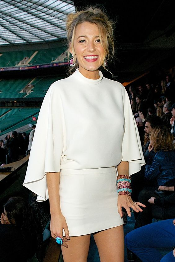 Blake Lively at Chime for Change [Photo by James Mason] literally perfection