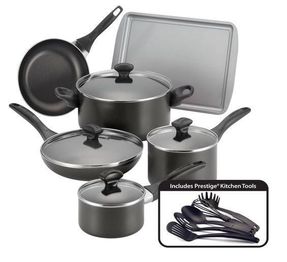 Nonstick 15 Piece Cookware Set