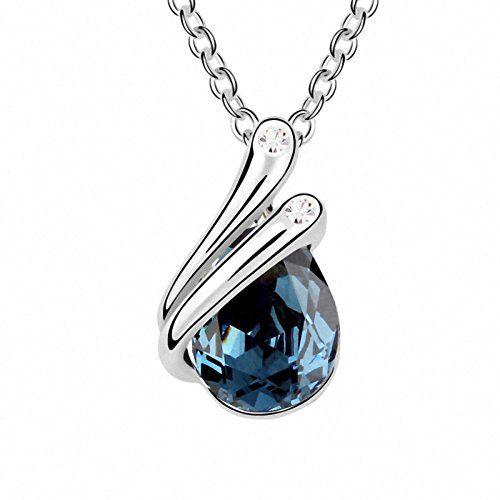 TAOTAOHAS Damen Anhänger Halskette mit Crystallized Swarovski Elements Kristall Capri Blue 18K 750 Weißgold, Herbst See TAOTAOHAS-Crystal http://www.amazon.de/dp/B00CJUFC8O/ref=cm_sw_r_pi_dp_Jx6Xub1QVAKP8
