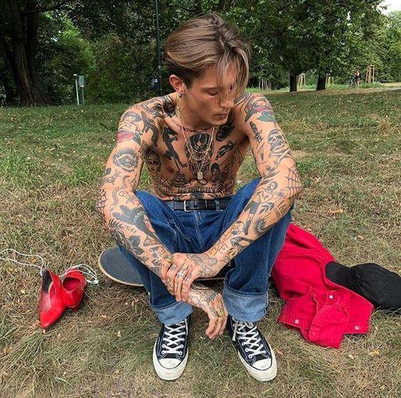 wildland firefighter tattoo, firefighter love, crochet firefighter #folow4folow #tattoolife #tatuagem