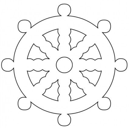 pirate ship sail template - pirate ship drawing template the ship wheel is a vector