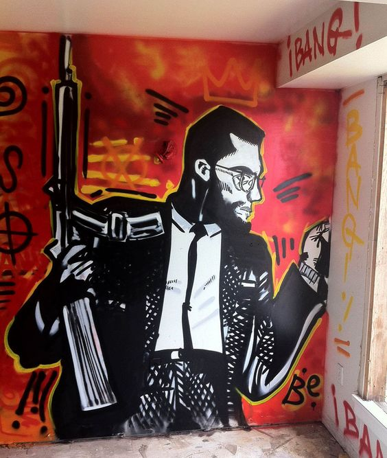 New orleans louisiana florida and projects on pinterest for Malcolm x mural