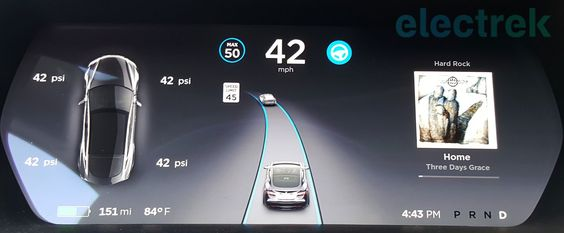 First look at Tesla v8.0 software update with UI overhaul improved Autopilot visualisation and more