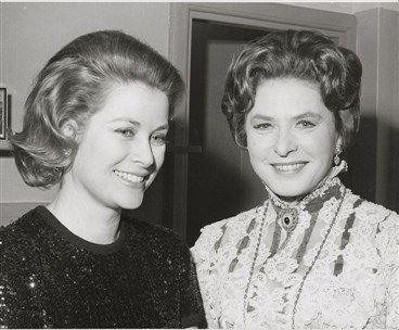 Grace Kelly (Princess Grace and Ingrid Bergman) in the 1970's xo