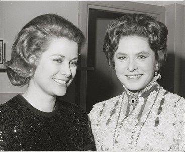 Grace Kelly (Princess Grace and Ingrid Bergman) in the 1970's xo