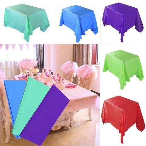 Large Disposable Table Linens Map Rectangle Table Table Covers