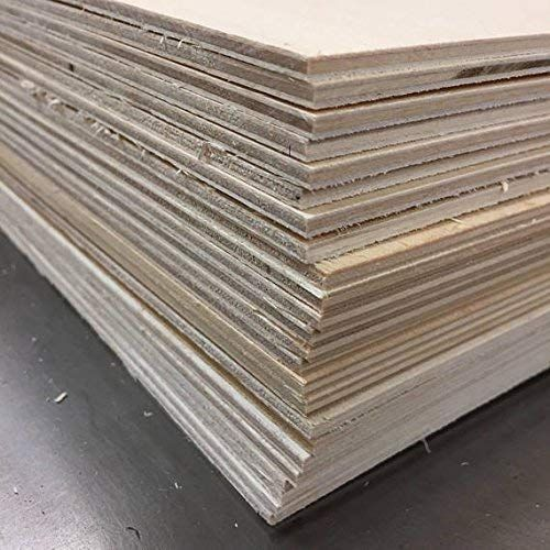 1 8 3mm Baltic Birch Plywood 12 X 20 Sheets 22 Sheets Perfect For Your Glowforge Laser Baltic Birch Plywood Birch Plywood Plywood Sheets