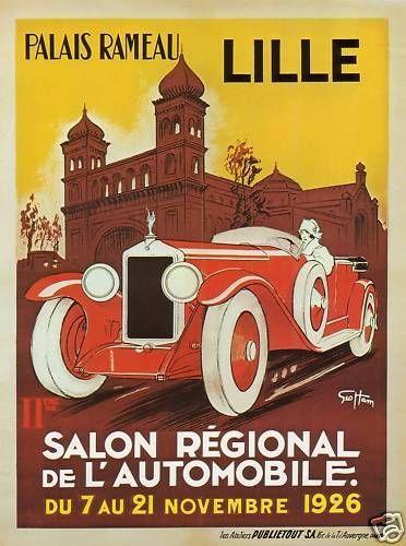 Lille Salon Regional 1926 http://stores.ebay.com/Vintage-Poster-Prints-and-more