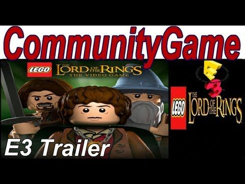 LEGO Lord of the Rings E3 2012 Teaser Trailer YAY!