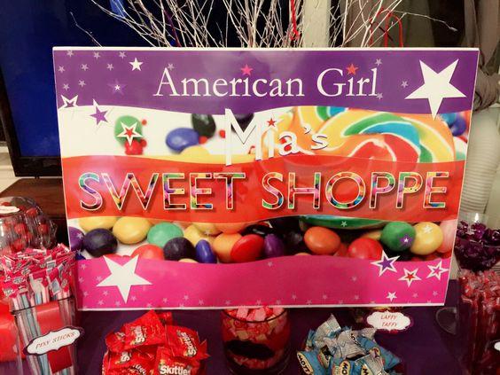 Mia's sweet shoppe sign