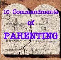 10 Commandments of Parenting