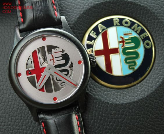 Alfa Roméo watches, only one ;)