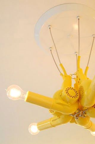 Reuse, Recycle | Check out some more decorating ideas at salonmagazine.ca #brightlights