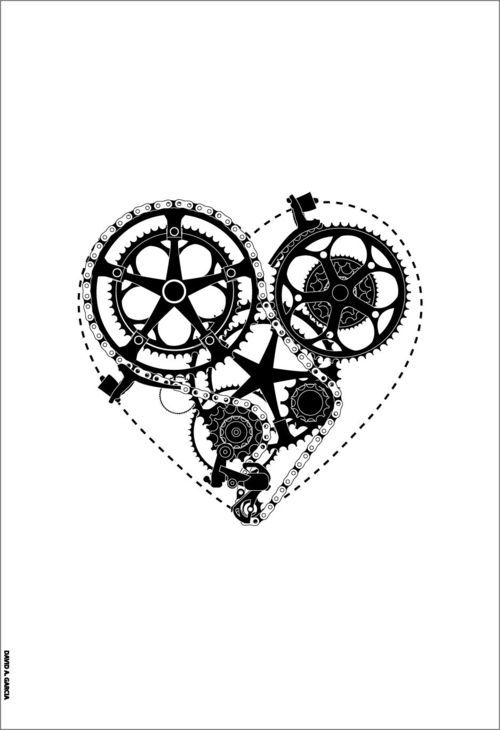 bicycleimpressions:    Wouldn't it be a nice tattoo?