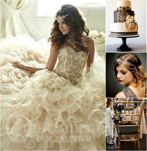 The great gatsby themed quinceanera quinceanera ideas download our