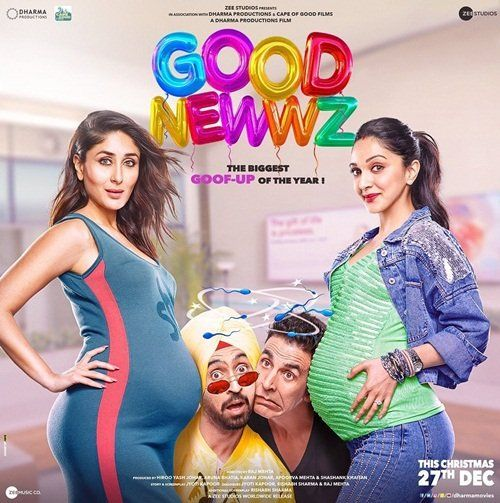 Good Newwz Akshay Kareena Promise Biggest Goof Up Of The Year Best New Movies Bollywood Movie Bollywood Movies