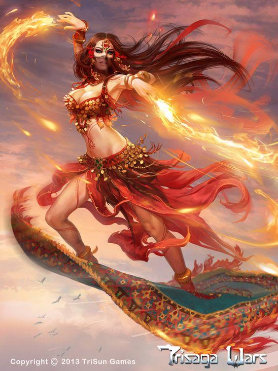 Freyja es la diosa del amor, la belleza y la fertilidad.también era asociada con la guerra, la muerte, la magia, la profecía y la riqueza. Las Eddas mencionan que recibía a la mitad de los muertos en combate en su palacio