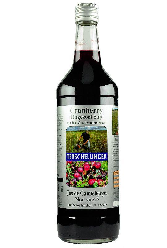 CANBERRY WINKEL - Cranberrysap - Ongezoet Cranberrysap 1000 ml