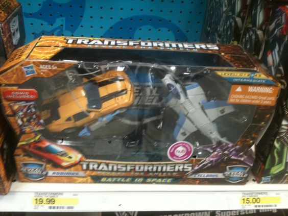 Transformers Reveal The Shield Battle in Space Box Set Toy Swap