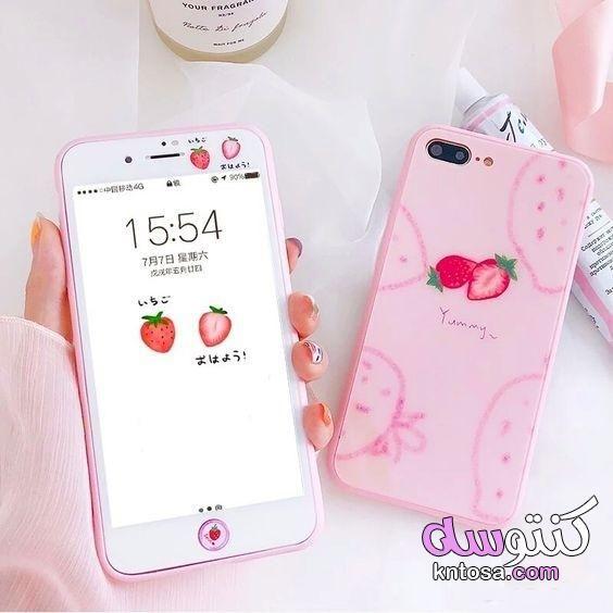 كفرات موبايل 2020 اشكال كفرات موبايل للبنات حافظات للموبايل اجمل كفرات الموبايل كفرات موبايل روعة Kawaii Phone Case Phone Cases Pink Iphone