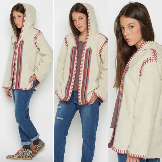 ETHNIQUE STYLE ! La touche #folk de votre look  #nicoli #veste #ethnic #style #hippie #70s #tendance #trendy #mode #fashion #girl #outfit http://www.nicoli.fr/boutique/Look-25-20150225-mca.html