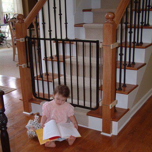 Cardinal Gates Stairway Special Child Safety Gate Walmart Com Kids Gate Banister Baby Gate Child Safety Gates
