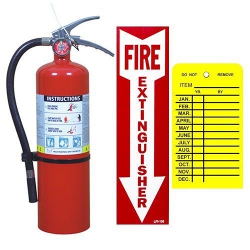 5 Lb Victory Abc Fire Extinguisher With Vehicle Bracket Sign And Inspection Tag Fire Extinguisher Fire Fire Systems