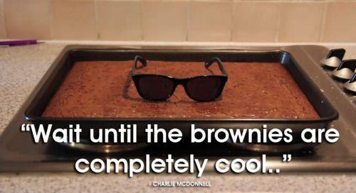 cool brownies