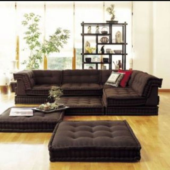 Floor cushions the floor and living rooms on pinterest - Cushion flooring for living rooms ...