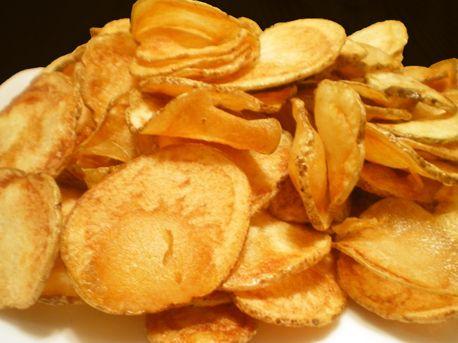Chips traditionnelles maison de pommes de terre
