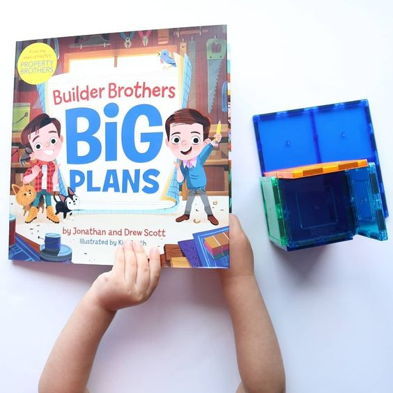 Https Www Harpercollins Com 9780062846624 Builder Brothers Big Plans I Don T Know Who Was More Excited To Read This Book This Book Picture Book Book Worms