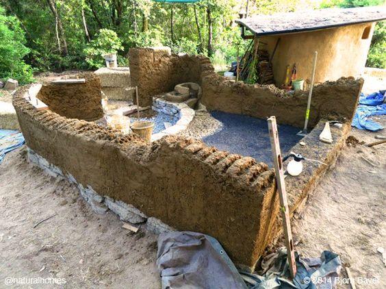 cmo construir una casa de campo de cob los pasos principales