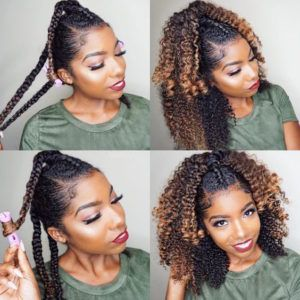 How To Curl Your Hair Without Heat No Heat Curls Styles And Tutorials How To Curl Your Hair Hair Without Heat Natural Hair Styles For Black Women