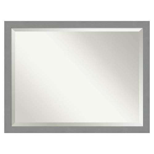 Amanti Art Brushed Nickel Frame Collection 43 5 In Brushed Silver