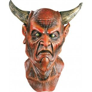 Masque illusion en latex Seigneur des Thénèbres