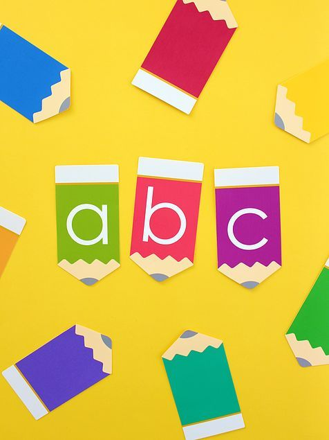 Free Printable Abc Pencil Garland Free Printables Back To