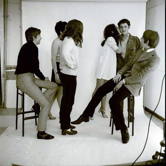 """alaric1919: """"""""Nick Cudworth was at Chelsea School of Art with Alan Rickman in the 60s, where this photo-shoot took place."""" ___ ©NickCudworthgallery instagram: https://instagram.com/p/BJ-m8H0AlEd/ """":"""
