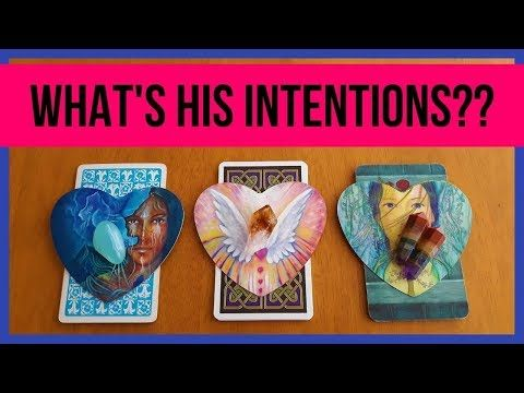 What S His Intentions Pick A Card Love Relationship Tarot