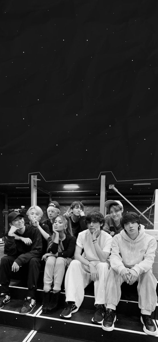 Pin By Hannah Doyle On Bts In 2020 Bts Black And White Bts Aesthetic Pictures Bts Wallpaper