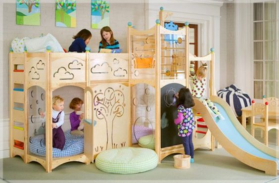 """Really cool beds and play""""houses"""""""