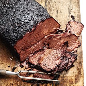 Coffee-Rubbed Texas-Style Brisket | Recipe | Brisket, Coffee and ...