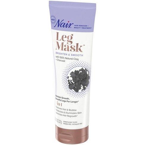 Nair Leg Mask Brighten Smooth 8oz Legs Health Beauty Beauty Secrets
