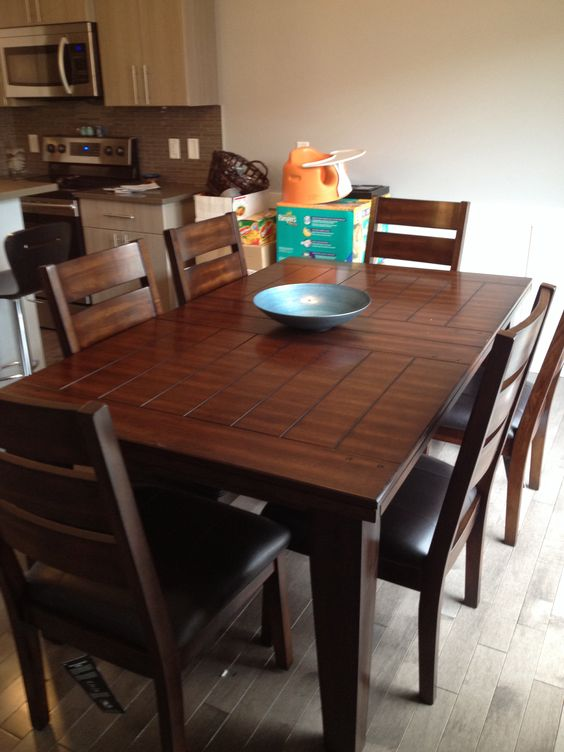 kitchen table from ashley furniture for the home